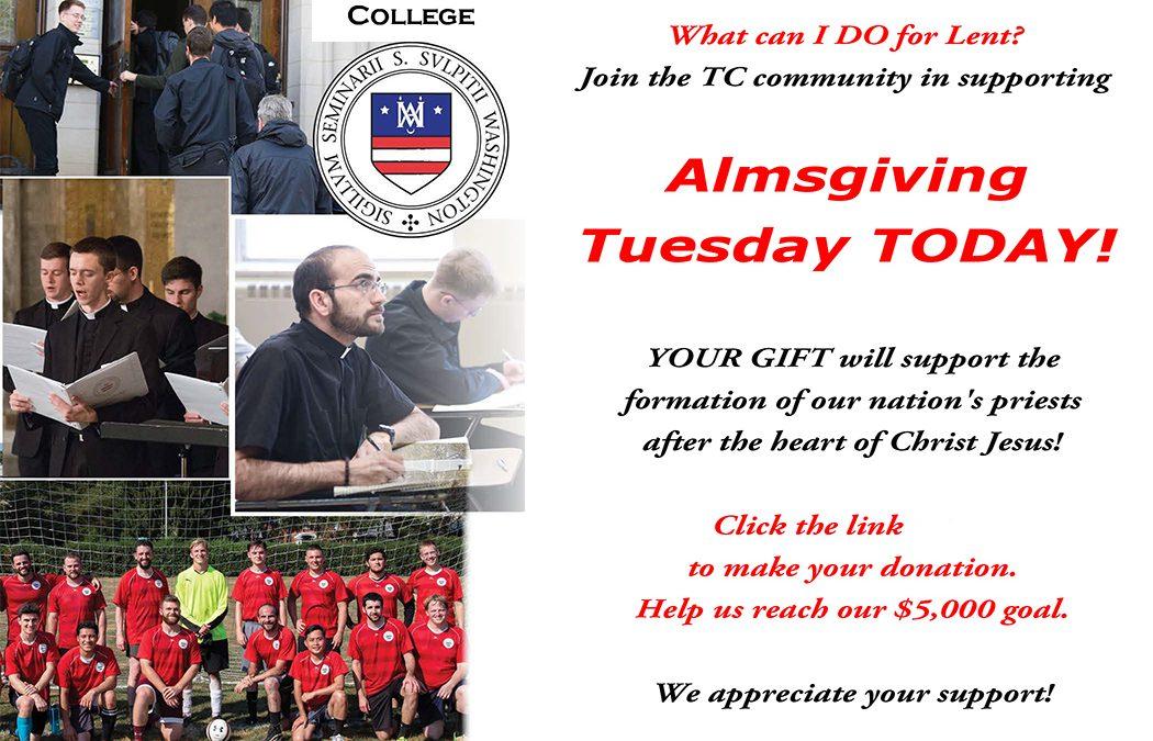 AlmsGiving Tuesday